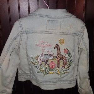 Genuine kids denim jacket